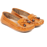 TEN Women's Beige Loafers