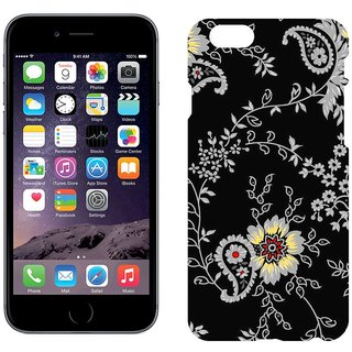 Apple iPhone 6Plus Design Back Cover Case -  Background Flowers Color Pattern
