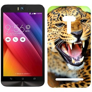 Asus Zenfone Selfie Design Back Cover Case - K Cheetah Teeth Predator Look Big Cat