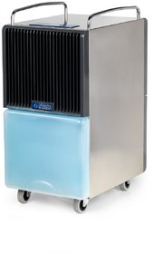 Olimpia Splendid Dehumidifier  Silver Black and Aero Blue Seccoprof28