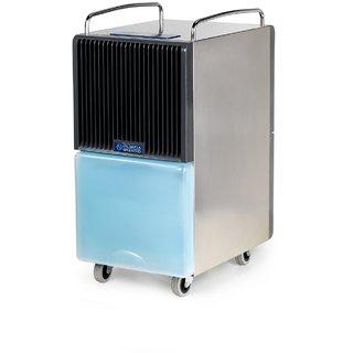 Olimpia Splendid Dehumidifier Silver Black and Aero Blue Seccoprof28