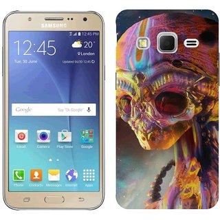 Samsung J7 Design Back Cover Case - Rt Colorful