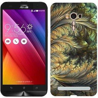 Zenfone 2 Laser Design Back Cover Case - Ght Moon Fractals