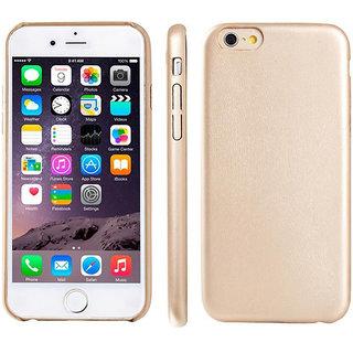 Callmate Leather Touch Back Cover for iPhone 6 - Gold