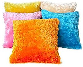 Ech oly multicolored Cushion covers set of 5