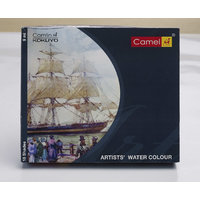 Camlin Artist Water Colour Box - 9ml tubes, 18 Shades