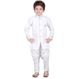 Jeet Stylish White Kurta Pyjama for Boys