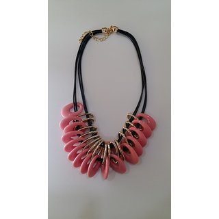 Asmo Plastic Beads Necklace