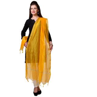 Varanga  Yellow Designer  Dupatta VARDUP001