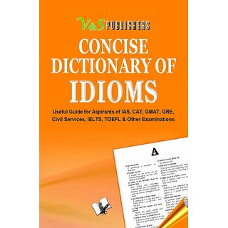 CONCISE DICTIONARY OF IDIOMS (POCKET SIZE)