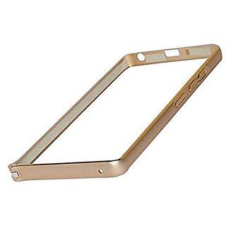 Metal Bumper Case Cover for Lenovo A6000 PLUS - Gold