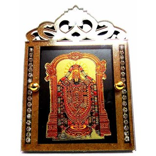 TAKECARE Tirupati Balaji frame FOR  MAHINDRA SCORPIO OLD MODEL