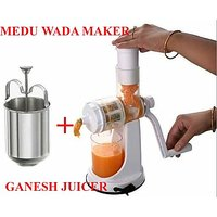 Buy Ganesh Fruit & Vegetable Juicer & Get Medu Wada Maker FREE FREE