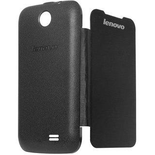 Snaptic Hi Grade Black Flip Cover for Lenovo A269i