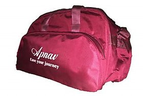 Apnav Maroon Travelling Bag