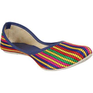 Sassily Women's Multicolor Jutti