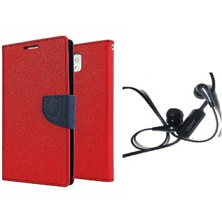 Fancy diary wallet flip cover for Samsung Galaxy Grand I9082 with earphone