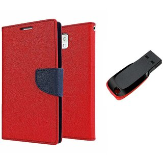 Fancy diary wallet flip cover for Samsung Galaxy S3 With 8 Gb Pan Drive