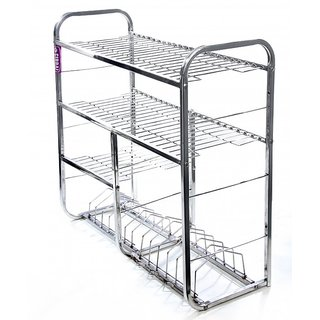 Shire Stainless Steel Kitchen Rack