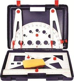 Asfit Teachers Scientific Plastic Geometry Box
