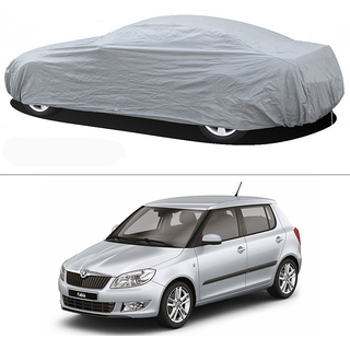Stylobby Silver Car Cover For Skoda Fabia