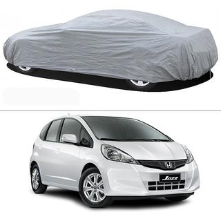 Stylobby Silver Car Cover For Honda Jazz