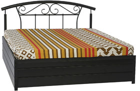 Metal King Bed - Lift On