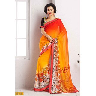 Party Wear Georgette Saree Option 19