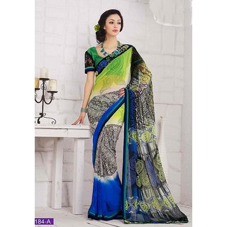 Party Wear Georgette Saree Option 22