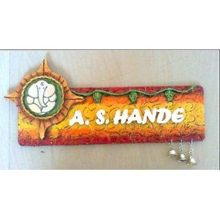 Designer Handmade Nameplate
