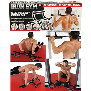 Iron Gym Total Body Workout Muliple Bar