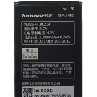 Lenovo Battery BL 214 For LENOVO A269 A269 IN 1300mAh