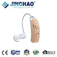 JINGHAO Hearing Machine Transparent Ear Line Hearing Machine Behind The Ear New