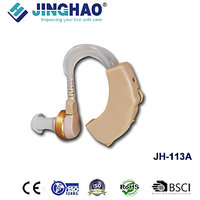 JINGHAO Hearing Aid Machine Ear Care Behind The Ear Volume Control Battery Ag13
