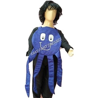 KFD-Octopus fancy dress for kidsWater Animal Costume for Annual function/Theme Party/Competition/Stage Shows/Birthday Party Dress  sc 1 st  Shopclues & Buy KFD-Octopus fancy dress for kidsWater Animal Costume for Annual ...