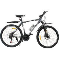 Cosmic Eldorado 1.0L 21 Speed Mtb Bicycle Grey-White-Premium Edition