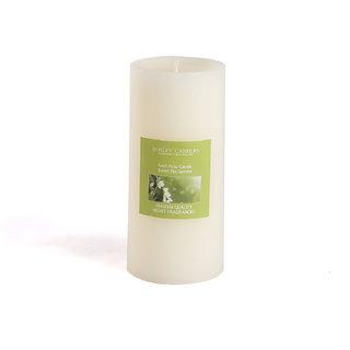 Hosley Sweet Pea Jasmine Highly Fragranced 6Inch Pillar Candle