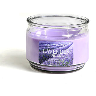 Hosley Lavender Fields Highly Fragranced, 2 Wick, 10 Oz Wax, Jar Candle