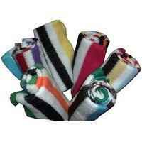 Bluefeather 5 Stripe Face Towel Set