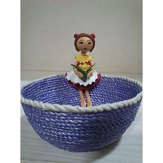 Handmade Lamasa Decorative Bowls With Doll