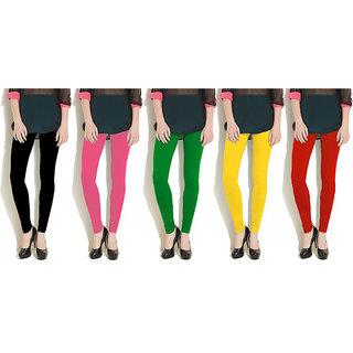 Aashish Fabric Viscose Women's Legging (Pack of 5)