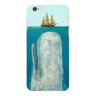 The Fappy Store The-Whale Printed Back Cover Case for iphone 6