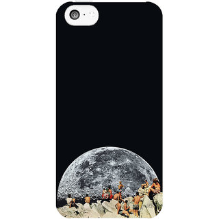 The Fappy Store MOONRISE Printed Back Cover Case for iphone 5c