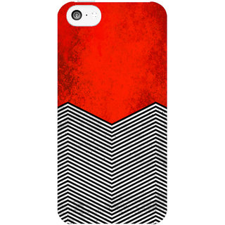 The Fappy Store Twin-peaks-David-Lynch Printed Back Cover Case for iphone 5c