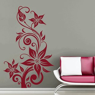 Decor Kafe Creative Rose Wall Sticker