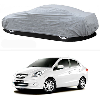 Stylobby Silver Car Cover For Honda Amaze