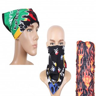 sushito Anti Pollution Ridding Headwrap Combo Bandana JSMFHHR0161
