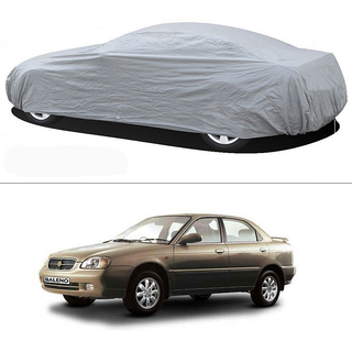 Stylobby Silver Car Cover For Maruti Baleno