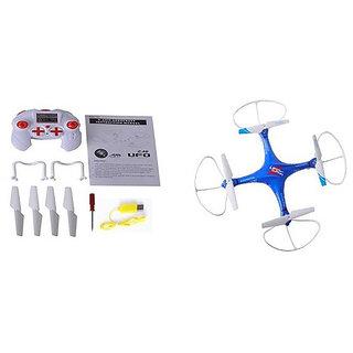 Taaza Garam RC LH-X10 Remote Control Drone - Blue