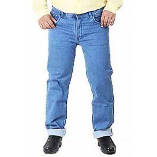 Rockin Light Blue Stretch Denim Jeans (105Rock4555Lblue)